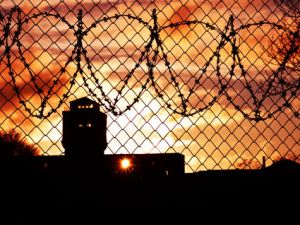 prison-barbed-wire-sunset