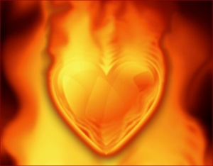 heart-on-fire-screensaver-main-view