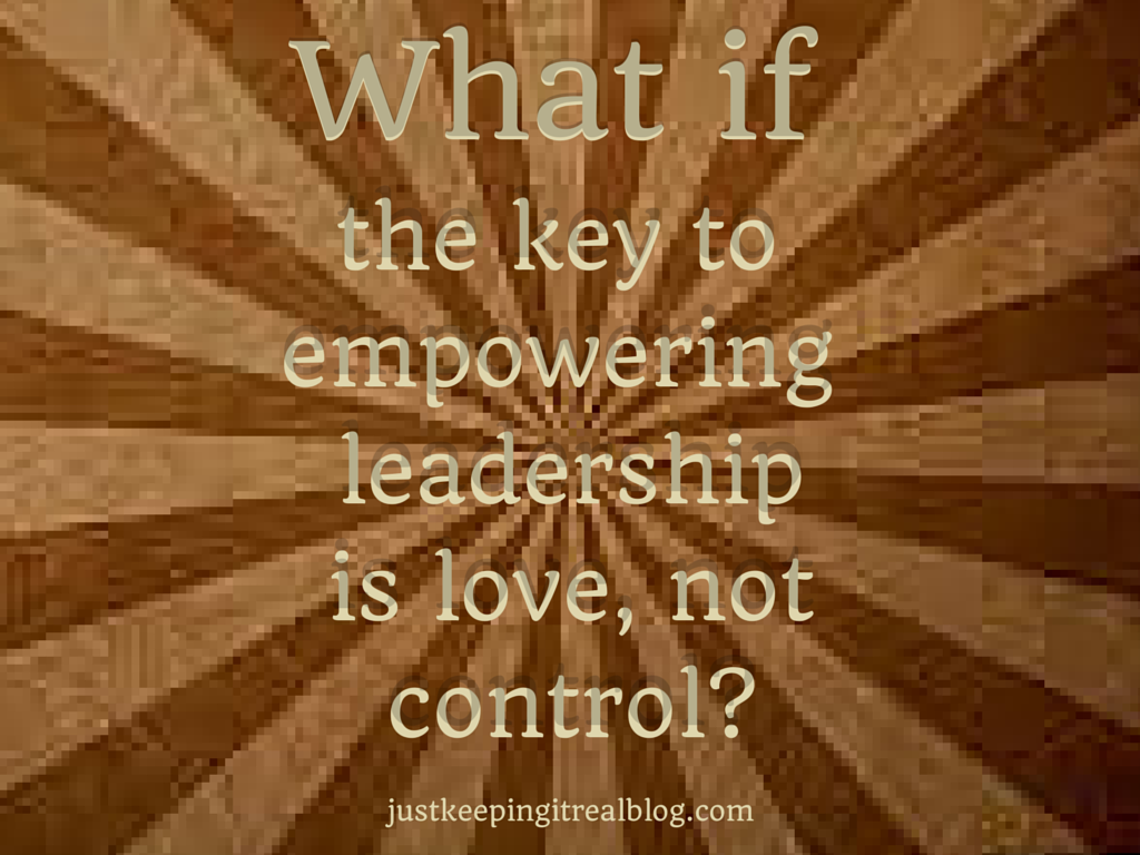 Love or Control