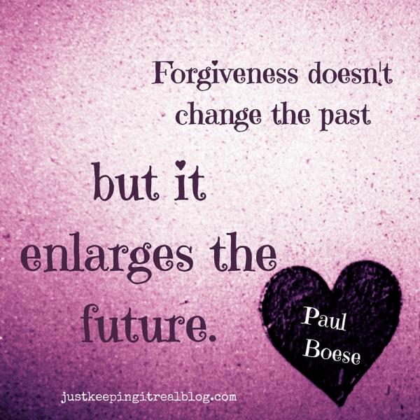 Do you need to forgive someone? #forgiveness