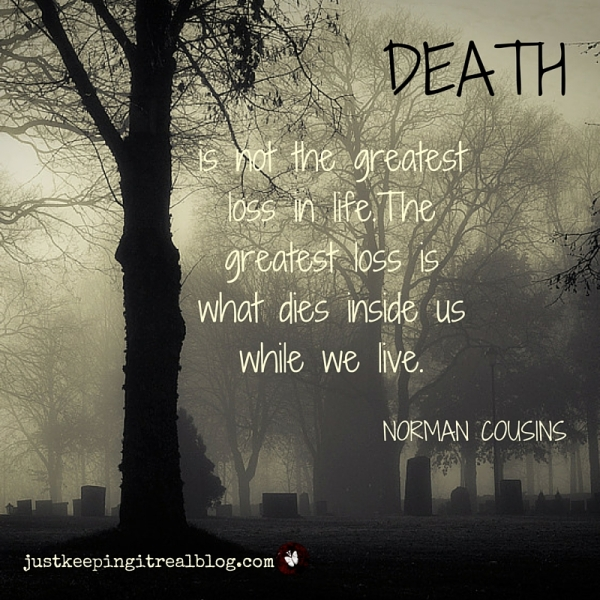 Do you need to resurrect something that is dying? #deathofdreams-2