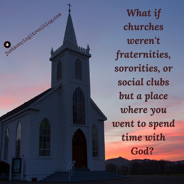 What kind of church do you want to attend? #church