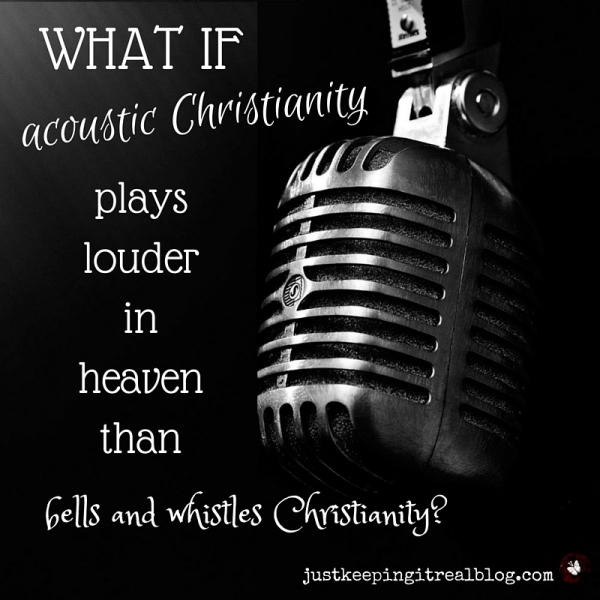 What kind of music are you sending up to heaven? #AuthenticChristianity-2