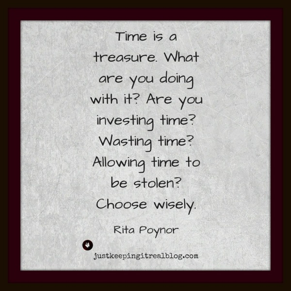 Do you treasure time