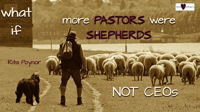 Pastoring Shepherds